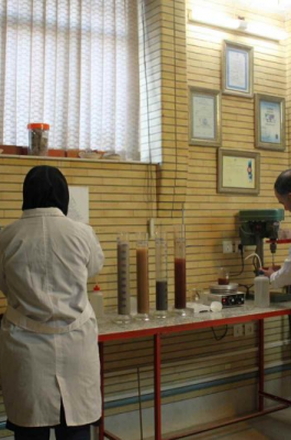 آزمایشگاه آجر نماچین